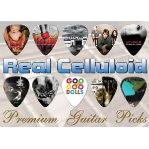 Goo Goo Dolls Premium Guitar Picks X 10 (A5) Musical