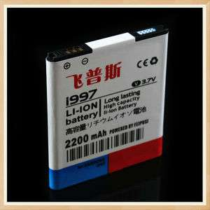 2200mAh i997 High Power Capacity Battery For Samsung Cell phone Infuse
