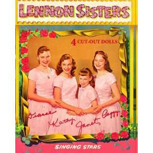 Lennon Sisters Paper Dolls (Pink) Toys & Games