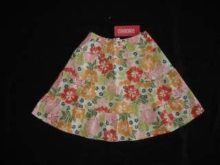 Girls GYMBOREE BEACH SHACK Long Floral Skirt Sz 3T NWT