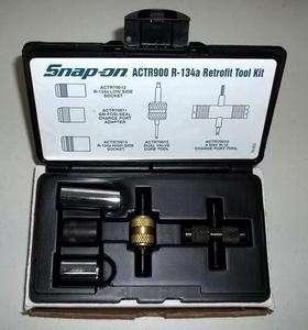 New Snap on R 134a Retrofit A/C Tool Kit Set ACTR900