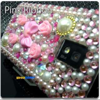 BLING Crystal Rhinestone Hard Case LG T Mobile G2X 2X