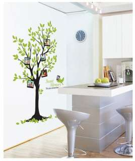 BIG SIZE Memory Photo Tree Adhesive Removable Wall Decor GRAPHIC