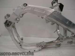 05 Suzuki RMZ450 RMZ 450 frame chassis complete 2 MSO