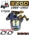 EZGO 1989 1993 Marathon Golf Cart 2 Cycle Carburetor 23932 G1 (FREE