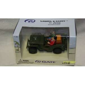 2001 Gate 132 Laurel & Hardy In Jeep Adventures Toys