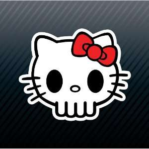 Hello Kitty Skull Car Trucks Sticker Decal Everything