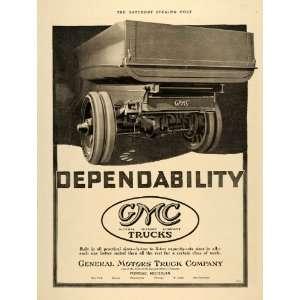 Ad GMC General Motors Truck Delivery Pontiac MI   Original Print Ad