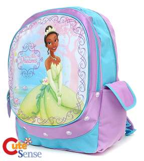 Disney The Princess Tiana and the Frog School Backpack  16n Large