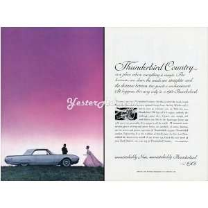 1961 Vintage Ad Ford Motor Company Ford Thunderbird