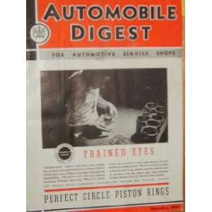 Automobile Digest Piston Rings (December, 1935) staff