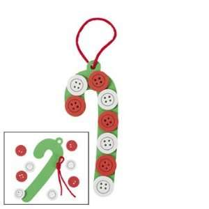Button Candy Cane Craft Kit   Craft Kits & Projects & Ornament Crafts