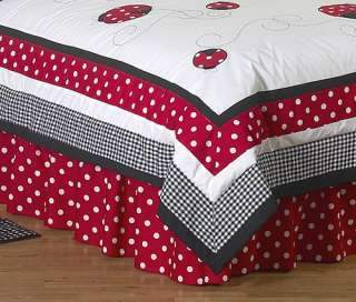 LADY BUG UNIQUE CHEAP DESIGNER BABY BEDDING GIRL CRIB QUILT SET