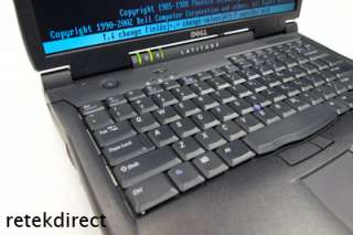 DELL LATITUDE C840 P4 1.8 GHZ 512MB MEM NOTEBOOK PC