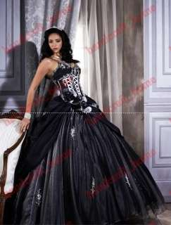 Nobby Spaghetti strap Bridal Gowns Prom Ball dress***Quinceanera dress