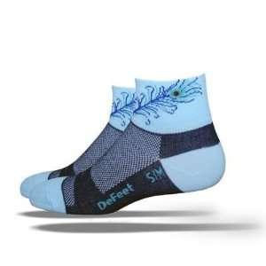DeFeet Womens AirEator Flirt Cycling/Running Socks