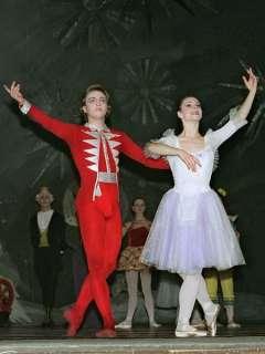 Vestido Marie de ballet 1 cascanueces del acto para adultos P 0203