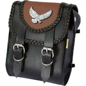 Willie & Max Eagle Color Matched Bag   Sissy Bar Bag   8in
