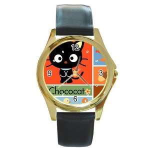 chococat black cat va1 Gold Metal Watch