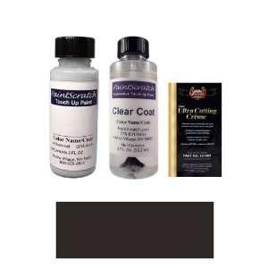 2 Oz. Black Matt (Wheel) Paint Bottle Kit for 2011 Ford Mustang