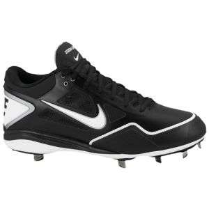 Nike Zoom Grit Metal   Mens   Baseball   Shoes   Black/White/Metallic