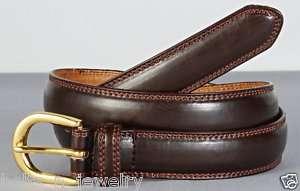 Big & Tall Mens Smooth Leather Belt 9725L