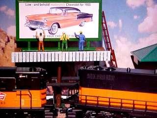 1955 Chevrolet BelAir 2 Door HT Billboard O Train 1/43