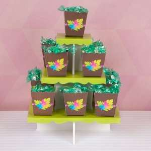 Baby Shower Candy Stand & 13 Fill Your Own Candy Boxes Toys & Games