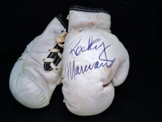 Rocky Marciano Signed Boxing Glove Autograph JSA BLAZER 10/10