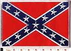 Confederate Rebel flag dixie iron on patch BIG 6 X 9 applique iron on
