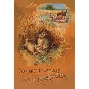 Vintage Art Mowers, Reapers and Binders   07585 6: Home & Kitchen