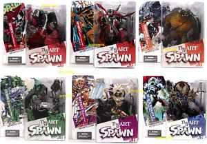McFarlane Toys Art of Spawn Series 26 Figure Set of 6