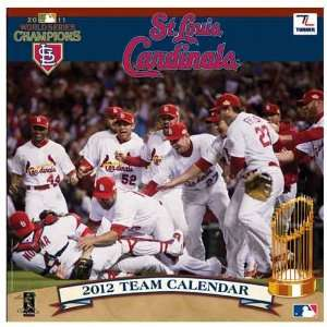St. Louis Cardinals World Series 2012 Wall Calendar