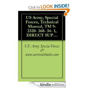 US Army, Special Forces, Technical Manual, TM 9  2320  360  34  1
