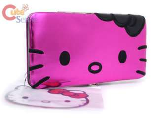 Sanrio Hello Kitty Hinge Wallet  Flat PINK Loungefly