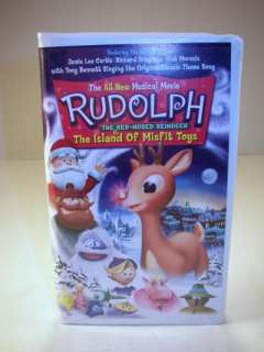 Rudolph & The Island of Misfit Toys VHS Tape 018713774422