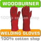heat resistant wood burner burning multi fuel stove gloves gauntlets