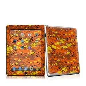 IPD2 DIGIOCAMO iPad 2 Skin   Digital Orange Camo: Home & Kitchen