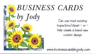 50 CUSTOM BUSINESS CARDS ~ Your Logo / Pic