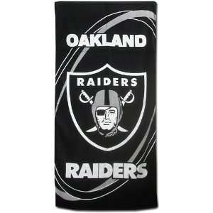 Mcarthur Sports Oakland Raiders Two Pack Fiber Beach Towel Sports