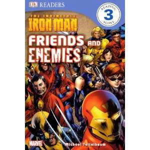 The Invincible Iron Man Friends and Enemies (Turtleback
