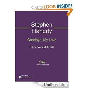 Goodbye, My Love Sheet Music Stephen Flaherty  Kindle