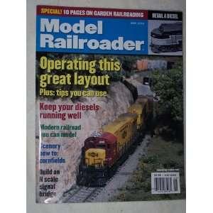 Model railroader magazine editors internship