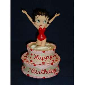 Betty Boop Happy Birthday Figurine Furniture & Decor
