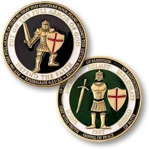 U.S. Armed Forces Armor of God Coin Toys & Games