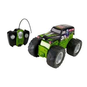 Hot Wheels RC Monster Jam Grave Digger Vehicle : Toys & Games :