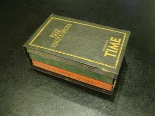 Time Life Desk Encyclopedia box Set & 3 Books 1982
