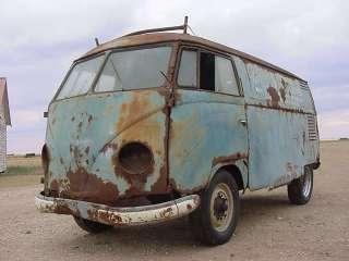 VW Bus 1953 Volkswagen Panel Van Barndoor Type 2 Kombi Standard Deluxe