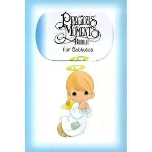 Precious Moments Bible for Catholics with 24 Full Color Pages