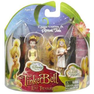 Disney Fairies   Tinker Bell & Lost Treasure 2 pack Mini   QUEEN